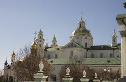 Heilige plaatsen van de Oekraïne, Pochayiv Lavra Stock Foto