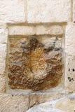 Heilige plaatsen van Jeruzalem stock afbeeldingen