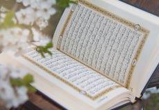 Heilige Quran stock afbeelding