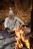 Heilige Sadhu-mensen Royalty-vrije Stock Foto's