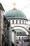 Heilige Sava Temple stock afbeelding
