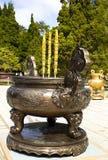 Heilige Schale in einem buddhistisches Kloster Truc-Flucht-DA-Lat, Vietnam Lizenzfreies Stockfoto