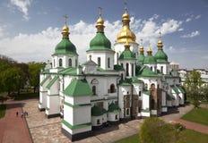 Heilige Sophia Cathedral in Kiev. De Oekraïne Royalty-vrije Stock Afbeelding