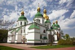 Heilige Sophia Cathedral in Kiev. De Oekraïne Stock Foto