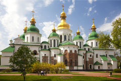 Heilige Sophia Cathedral in Kiev. De Oekraïne Royalty-vrije Stock Foto