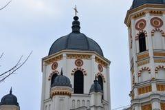 Heilige Spyridon de Nieuwe Kerk Stock Afbeelding