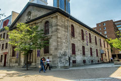 Heilige Sspirit Kirche Montreals Chinatown Lizenzfreies Stockbild