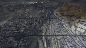 Heilige stad van Makkah en de heilige plaatsen met vlotte overgangen vector illustratie