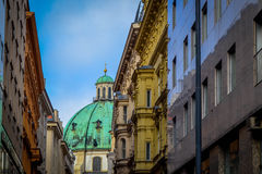 Heilige Stephen Basilica Budapest Stock Fotografie