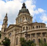 Heilige Stephen Cathedral, Boedapest, Hongarije Stock Afbeeldingen