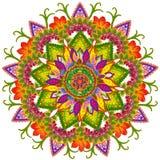 Heilige Sun-Mandala Stockfotografie
