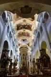Heilige Thomas Church (Tsjech: Kostelsvatã©ho Tomà ¡ Å ¡ e) is een kerk Van Augustinus in Malà ¡ Strana, Praag, Tsjechische Repub Royalty-vrije Stock Afbeeldingen