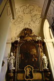 Heilige Thomas Church (Tsjech: Kostelsvatã©ho Tomà ¡ Å ¡ e) is een kerk Van Augustinus in Malà ¡ Strana, Praag, Tsjechische Repub Royalty-vrije Stock Foto's