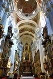 Heilige Thomas Church (Tsjech: Kostelsvatã©ho Tomà ¡ Å ¡ e) is een kerk Van Augustinus in Malà ¡ Strana, Praag, Tsjechische Repub Royalty-vrije Stock Foto