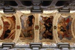 Heilige Thomas Church (Tsjech: Kostelsvatã©ho Tomà ¡ Å ¡ e) is een kerk Van Augustinus in Malà ¡ Strana, Praag, Tsjechische Repub Royalty-vrije Stock Fotografie