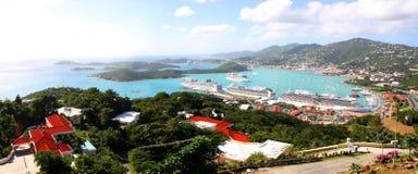 Heilige Tomas Island Stock Fotografie