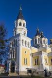 Heilige Transfiguration-Kathedrale Zhitomir Zhytomyr ukraine stockbilder