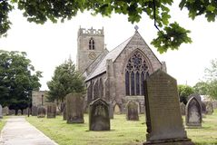 Heilige Trinty Kirche Embleton Lizenzfreie Stockbilder