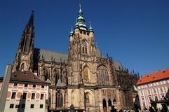 Heilige Veit Cathedral 1 stock foto