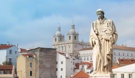 Heilige Vincente en zijn kerk Royalty-vrije Stock Foto's