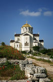Heilige Vladimir Cathedral, de Oekraïne Stock Foto's