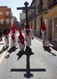 Heilige week in Guadalajara - Spanje Stock Fotografie