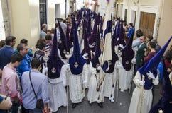 Heilige week in Sevilla Stock Afbeeldingen