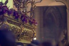 Heilige Week, Spanje stock foto's