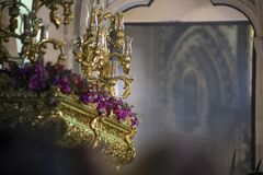 Heilige Week, Spanje royalty-vrije stock foto's