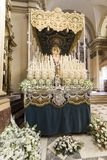 Heilige week van Sevilla royalty-vrije stock fotografie