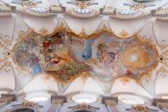 Heiligeistkirche Church Munich Germany stock image