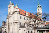 Heiligeistkirche Church Munich Germany Royalty Free Stock Photos