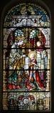 Heiligem Aloysius wird seine erste Kommunion vom Heiligen Charles Borromeo gegeben lizenzfreie stockbilder