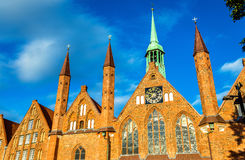 Heiligen-Geist-Hospital in Lubeck, Schleswig-Holstein, Germany Royalty Free Stock Photography