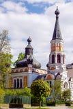 Heiligen Olga de der de Kirche dans Franzensbad Photographie stock