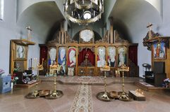 Heiligen Paraskevas Kapelle Lizenzfreies Stockfoto