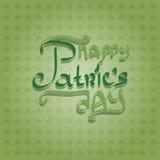 Heiligen Patricks Tagesauslegung Lizenzfreies Stockbild