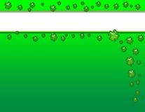 Heiligen Patricks Tageshintergrund Lizenzfreie Stockbilder