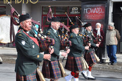 Heiligen Patricks Tagesparade Lizenzfreie Stockfotos