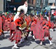 Heiligen Patricks Tagesparade Stockbild