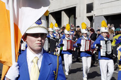 Heiligen Patricks Tagesparade in London Lizenzfreie Stockfotos