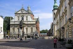 Heiligen Peter en Paul Church, Krakau Royalty-vrije Stock Afbeelding
