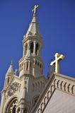 Heiligen Peter en Paul Church, San Francisco Stock Foto's