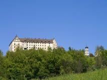 Heiligenberg-Schloss nahe Ãœberlingen - Linzgau, Baden-Wurttember lizenzfreies stockbild