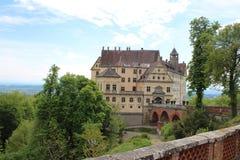 Heiligenbergkasteel Royalty-vrije Stock Afbeeldingen