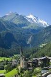 Heiligenblut和奥地利阿尔卑斯 库存照片