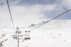 Heiligenblut滑雪胜地 库存图片