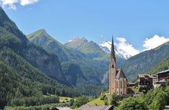 Heiligenblut, Austria Fotografia Stock Libera da Diritti