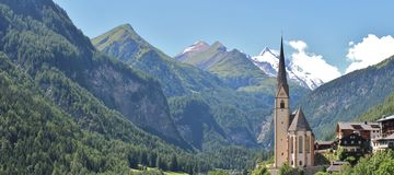 Heiligenblut, Austria Immagini Stock