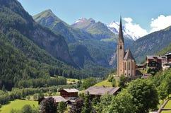 Heiligenblut, Austria Immagini Stock Libere da Diritti